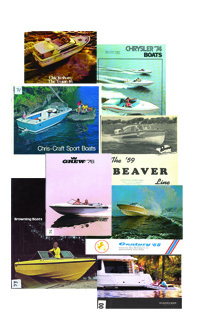 World's Biggest Collection Of Boat Brochures - Old Boat Brochures on